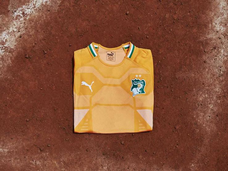 Cote Ivoire 2018 maillot domicile Puma presentation
