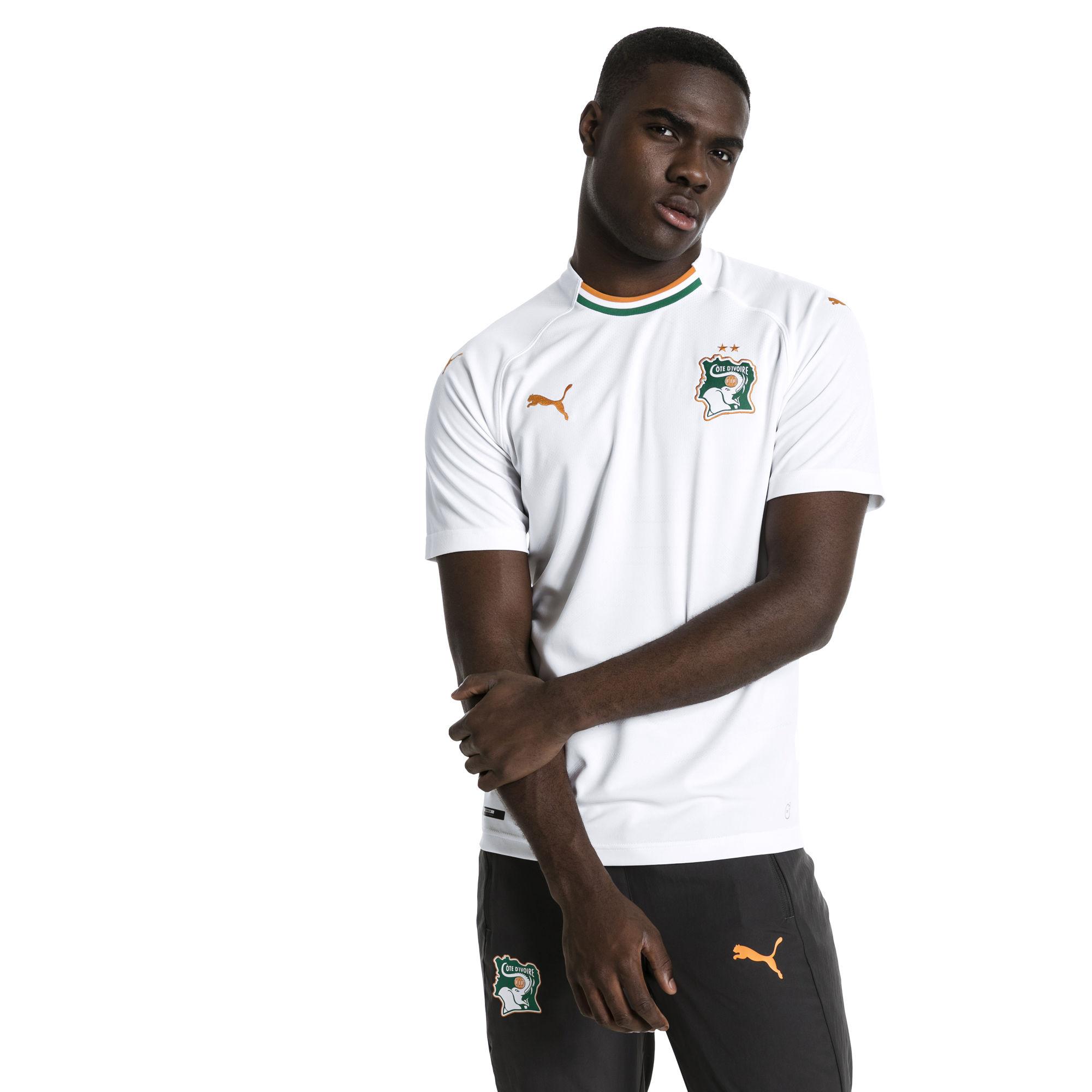 Cote Ivoire 2018 maillot exterieur Puma