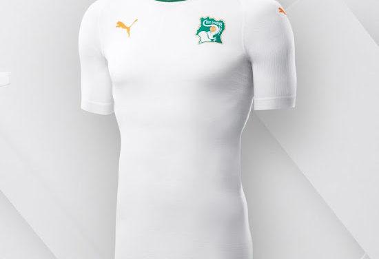 Cote d'Ivoire 2018 les maillots de foot Puma