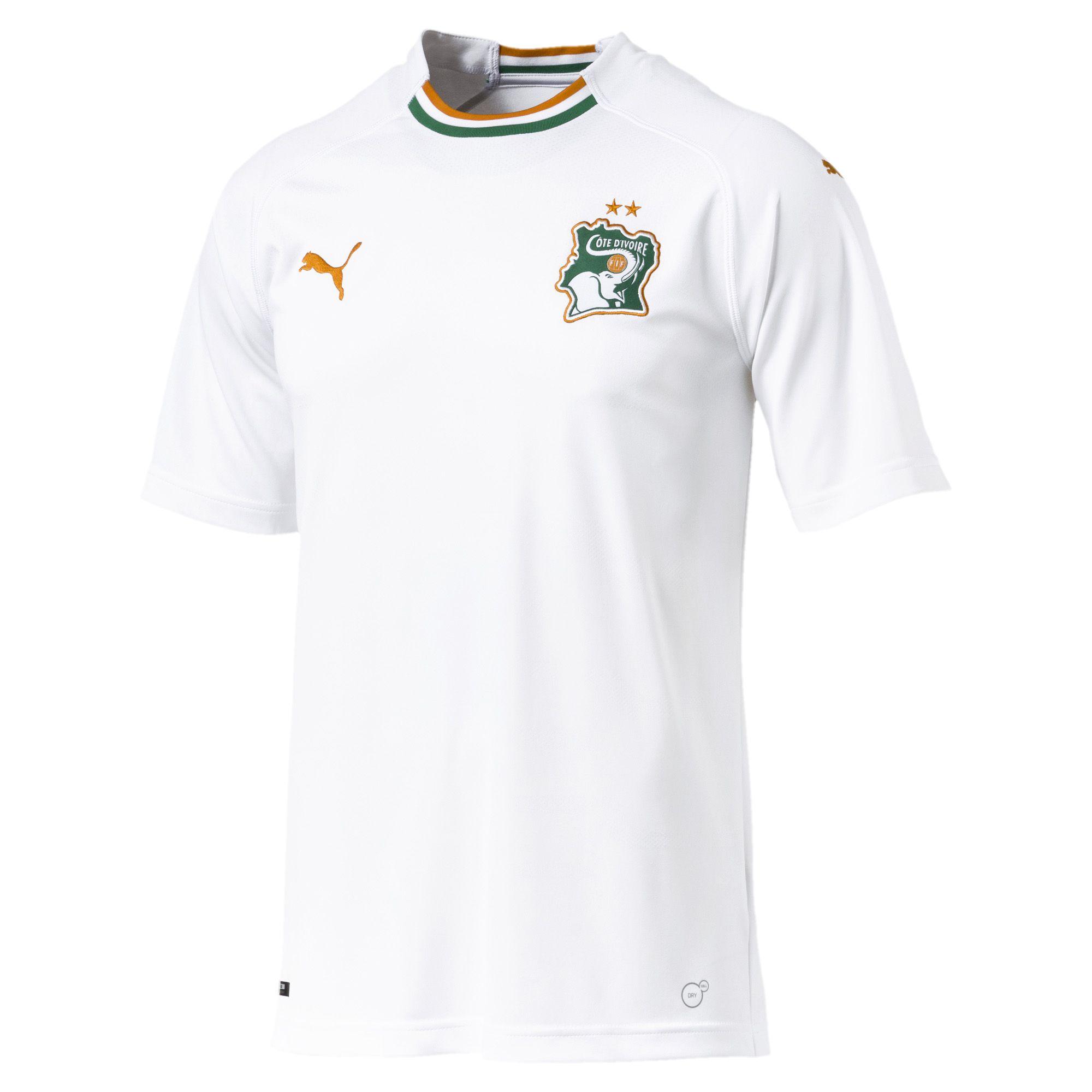 Cote Ivoire 2018 maillot exterieur foot