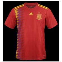 Espagne 2018 maillot de foot domicile coupe du monde 2018
