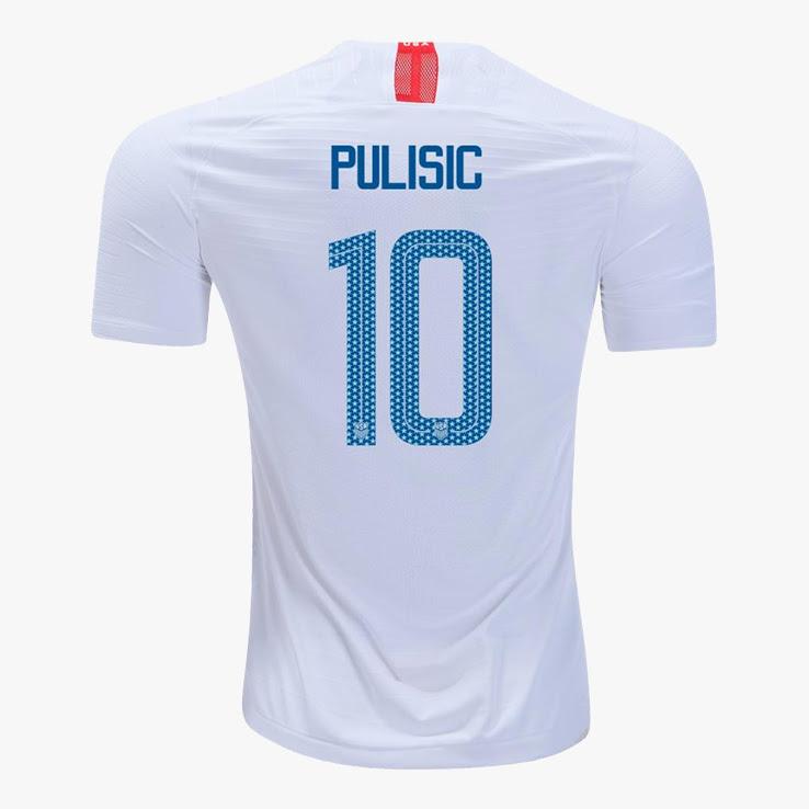 Etats Unis 2018 flocage maillot domicile