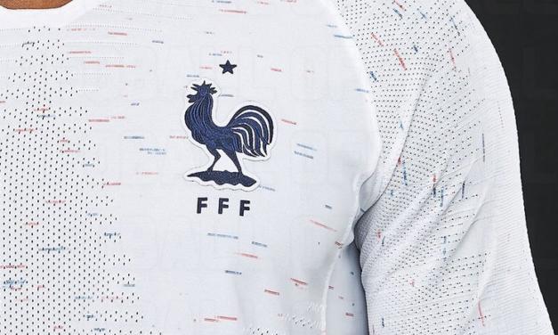 Les nouveaux maillots de la France coupe du monde 2018
