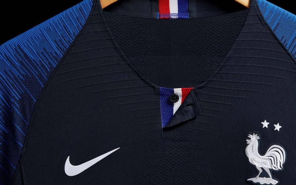 France 2018 maillot coupe du monde avec 2 étoiles équipe de france