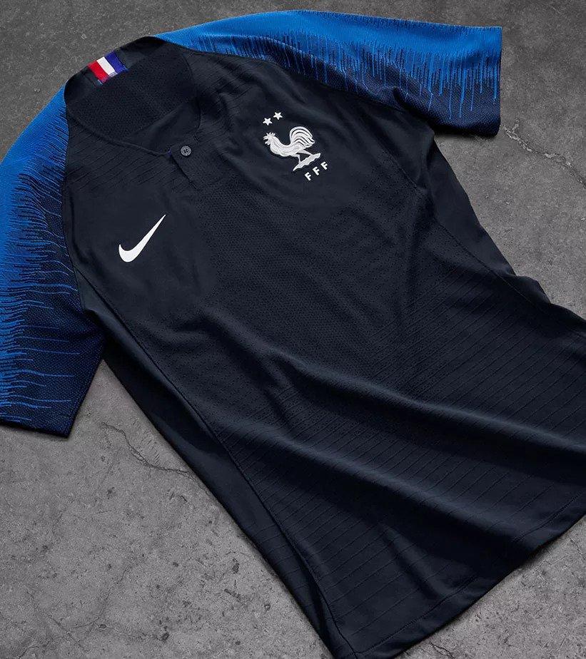 France 2018 maillot coupe du monde deux étoiles