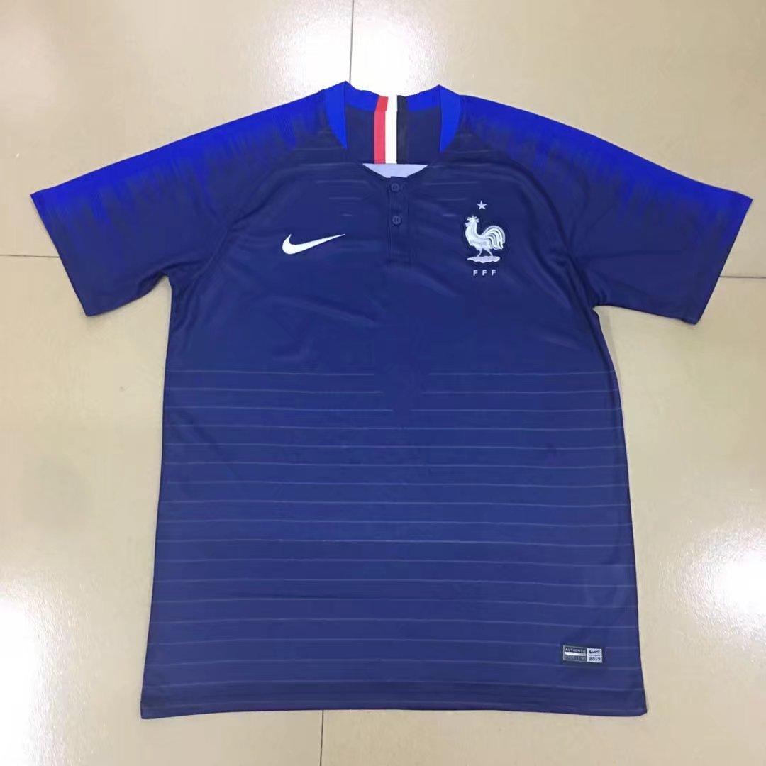 Les nouveaux maillots de la france coupe du monde 2018 for Nouveau maillot exterieur equipe de france