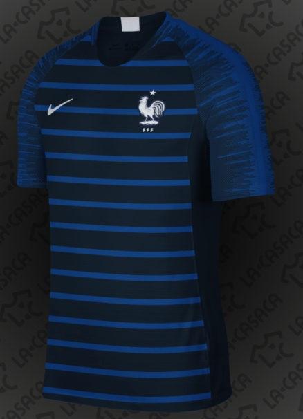 Les maillots de la france coupe du monde 2018 maillots foot actu - Maillot equipe de france coupe du monde 2014 ...