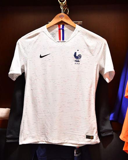France 2018 maillot exterieur blanc Nike coupe du monde 2018