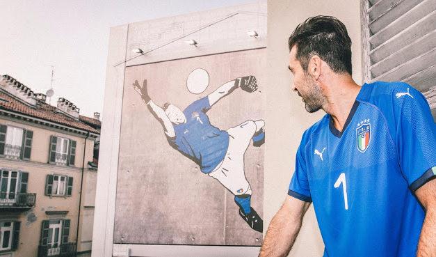 Italie 2018 les maillots pour la coupe du monde 2018