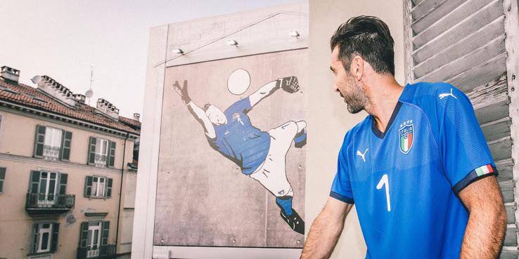 Italie 2018 maillot domicile Buffon