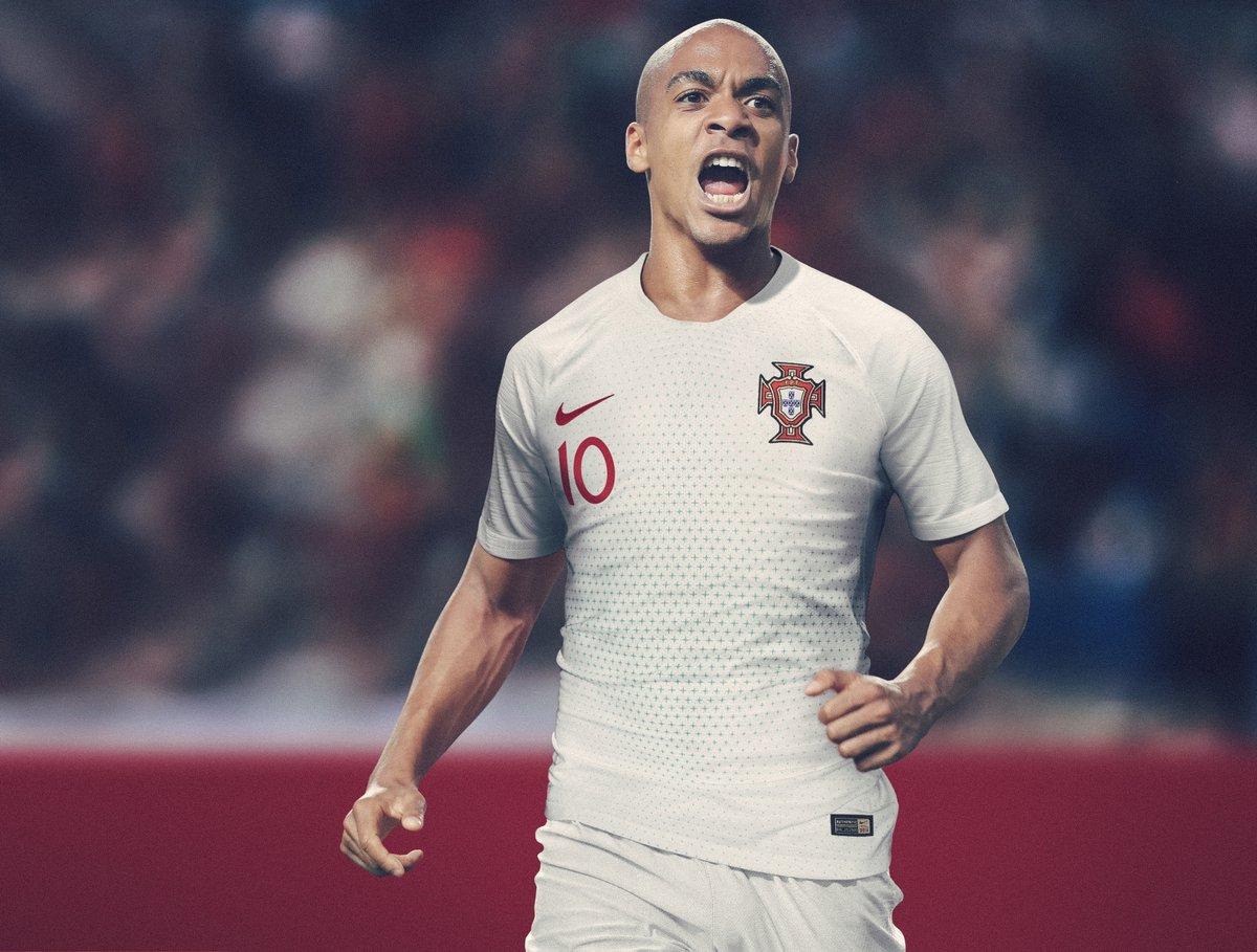 Portugal 2018 maillot de foot exterieur coupe du monde 2018