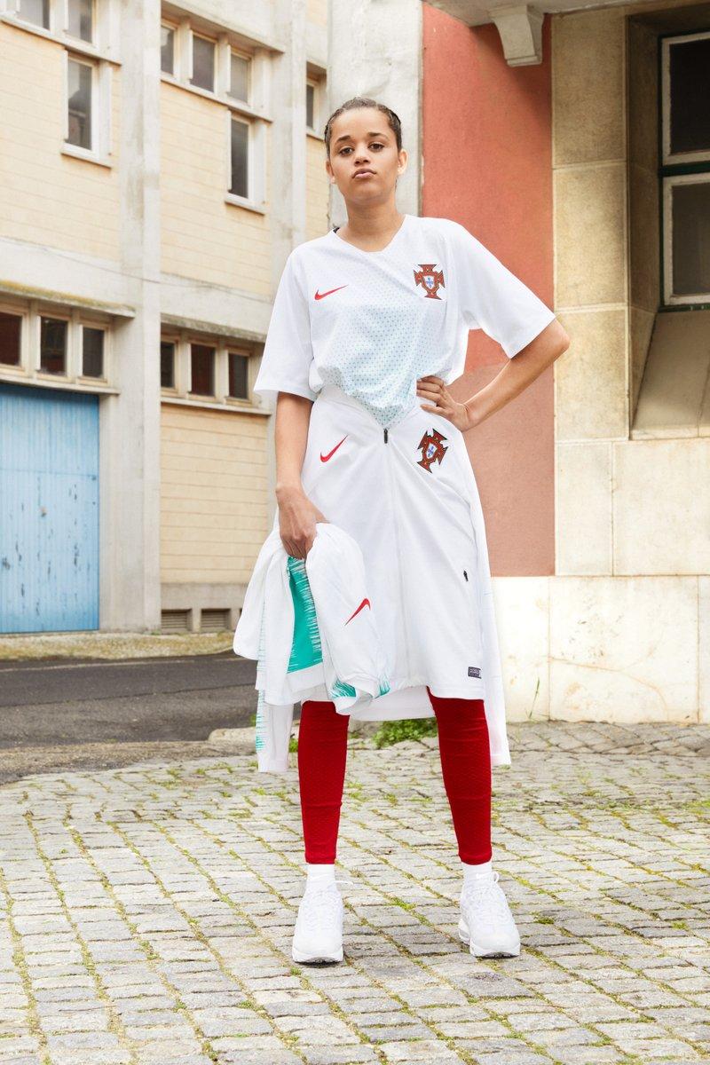 Portugal 2018 maillot de foot exterieur coupe du monde Nike