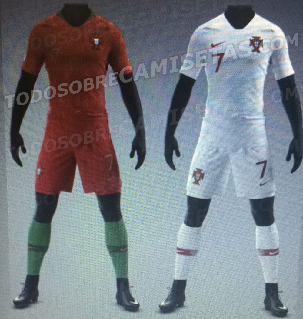 Portugal 2018 maillot domicile coupe du monde 2018 possible