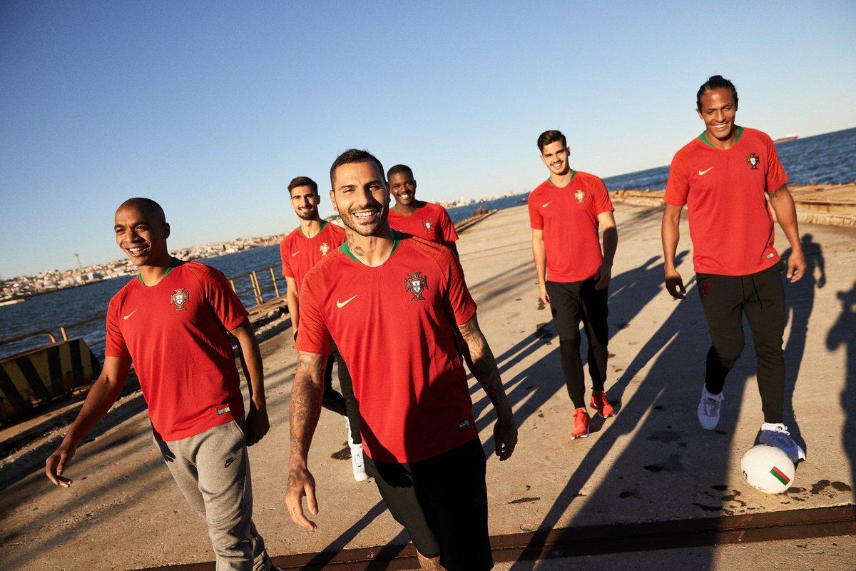 Portugal 2018 nouveau maillot domicile coupe du monde 2018 officiel
