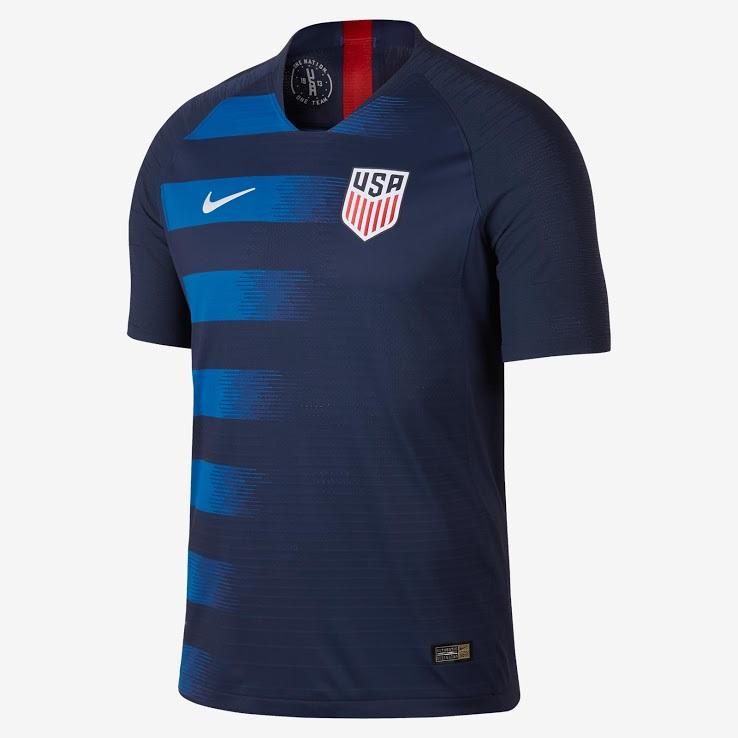 USA 2018 maillot exterieur foot Etats Unis