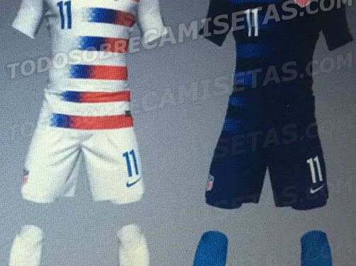 Etats-Unis maillots de football 2018 USA