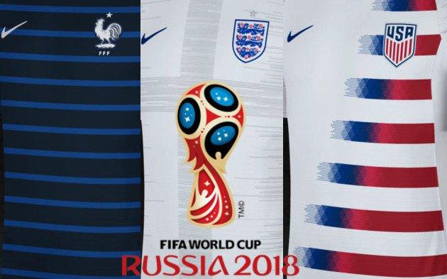 maillots de foot coupe du monde 2018