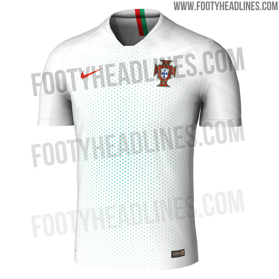 Portugal 2018 possible maillot exterieur coupe du monde 2018