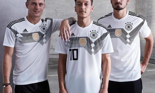Allemagne 2018 les nouveaux maillots de foot de la mannschaft