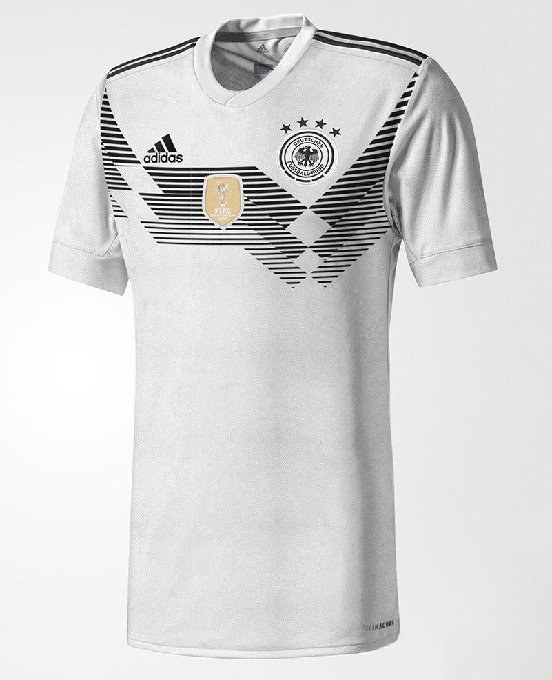 Allemagne 2018 maillot de football domicile coupe du monde 2018 probable