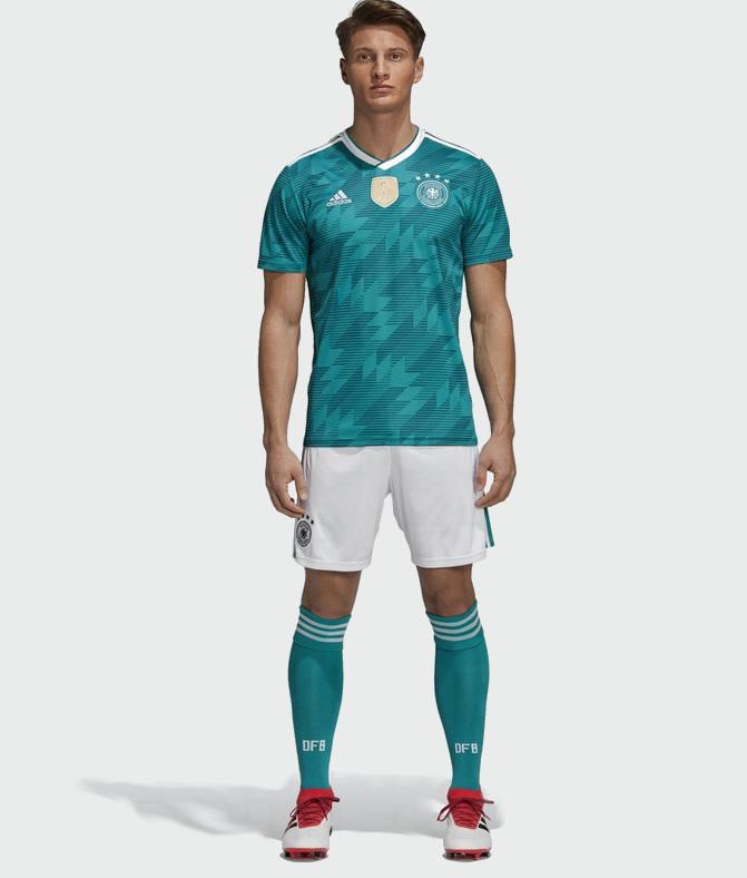 Allemagne 2018 maillot de football exterieur coupe du monde 2018