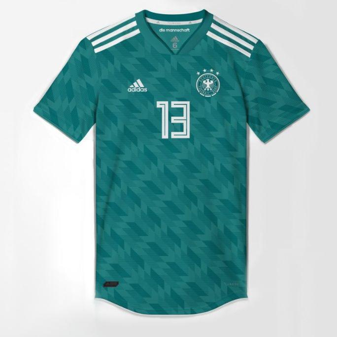 Allemagne 2018 supposition maillot foot extérieur