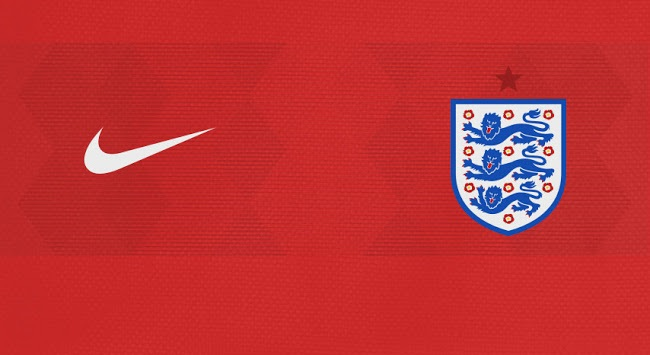 Angleterre 2018 couleurs maillot exterieur foot