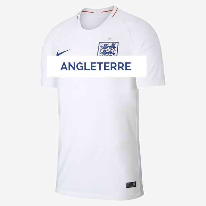 Angleterre 2018 maillot domicile Nike