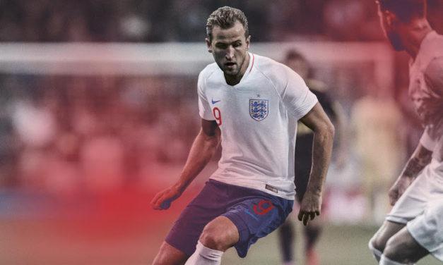 Angleterre 2018 les nouveaux maillots de foot CDM2018