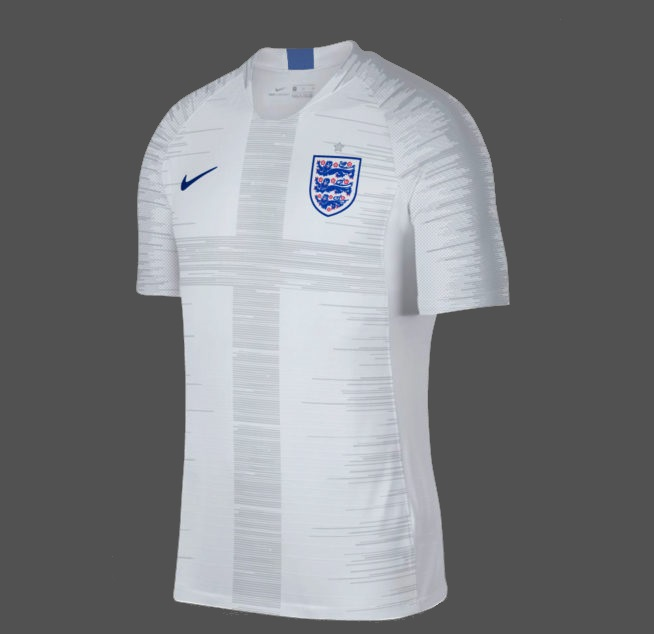 Angleterre 2018 maillot domicile possible