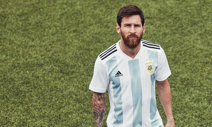 Argentine 2018 maillot de foot Messi coupe du monde 2018