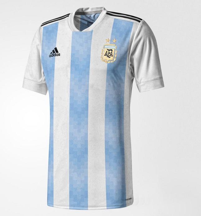 Argentine 2018 maillot domicile probable coupe du monde 2018