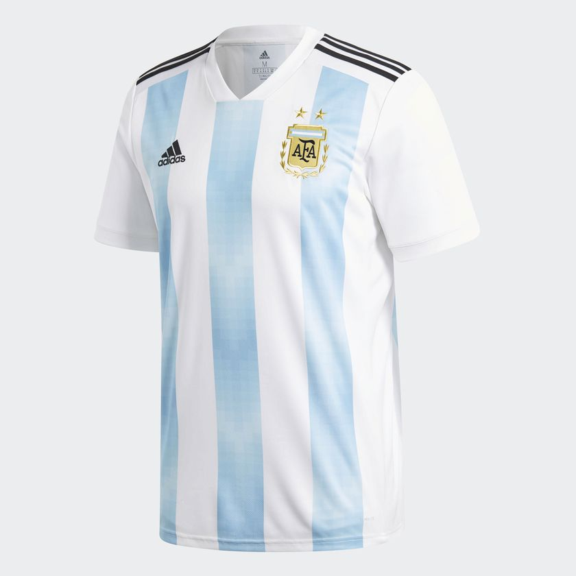 Argentine 2018 maillot foot Adidas officiel coupe du monde 2018