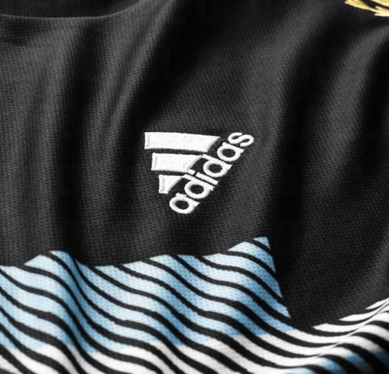 Argentine 2018 zoom maillot exterieur CDM2018