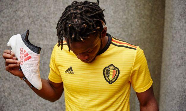 Détails sur les maillots de football de la Belgique 2018