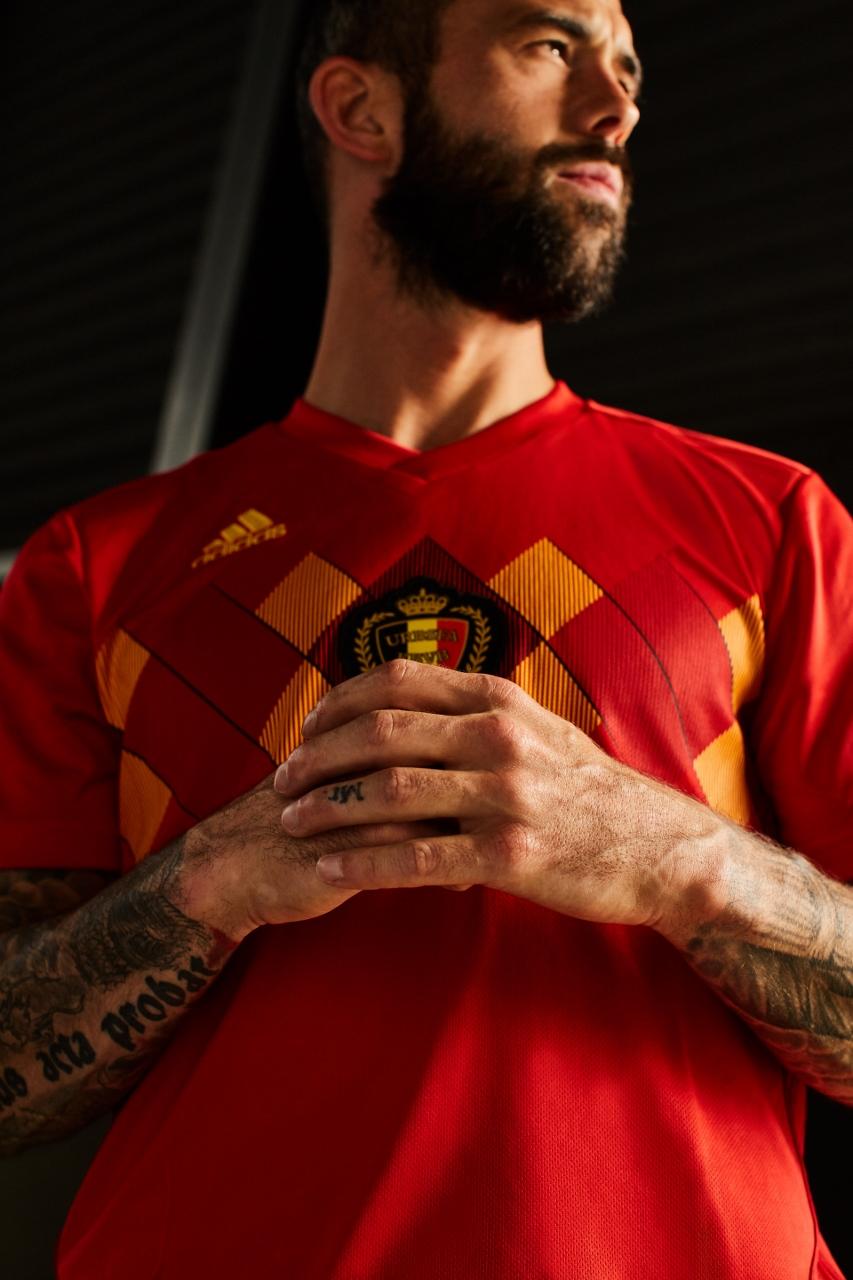 Belgique 2018 maillot Adidas coupe du monde 2018