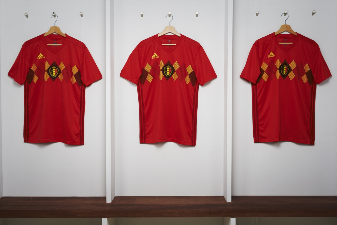 Belgique 2018 maillot Adidas officiel coupe du monde 2018