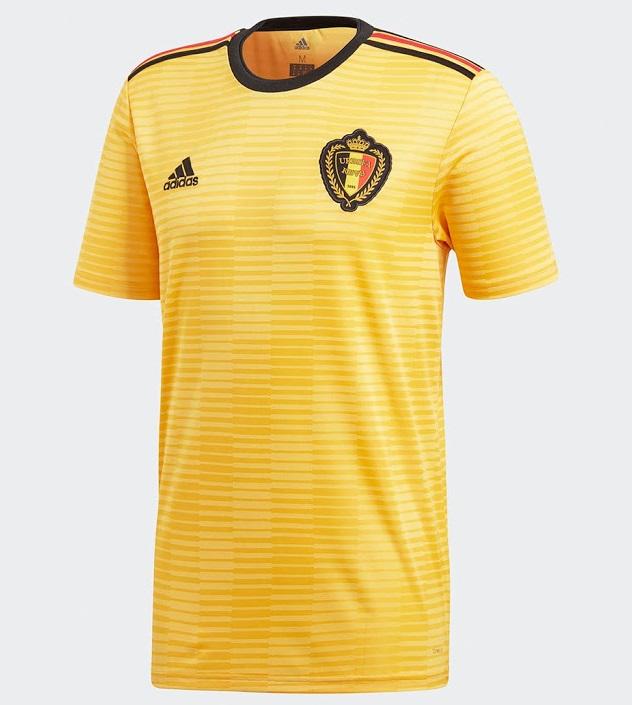 Belgique 2018 maillot de foot exterieur coupe du monde 2018