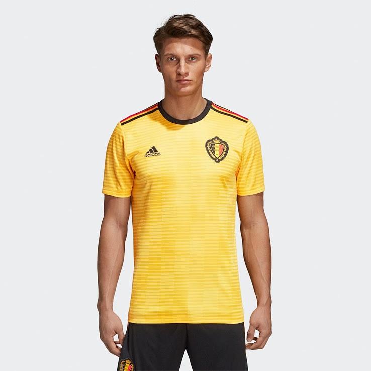 Belgique 2018 maillot exterieur coupe du monde 2018