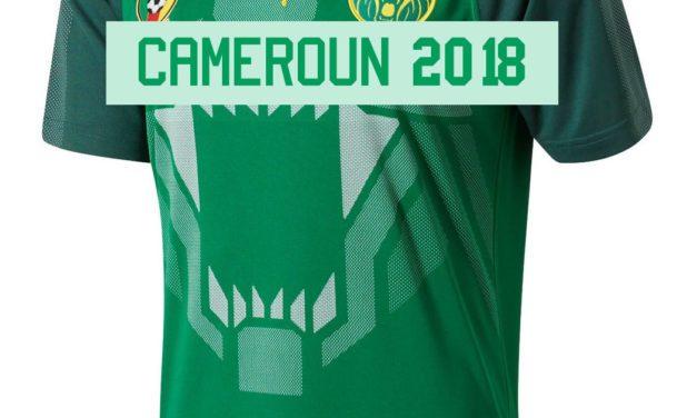Puma sort un maillot du Cameroun 2018 vraiment féroce !