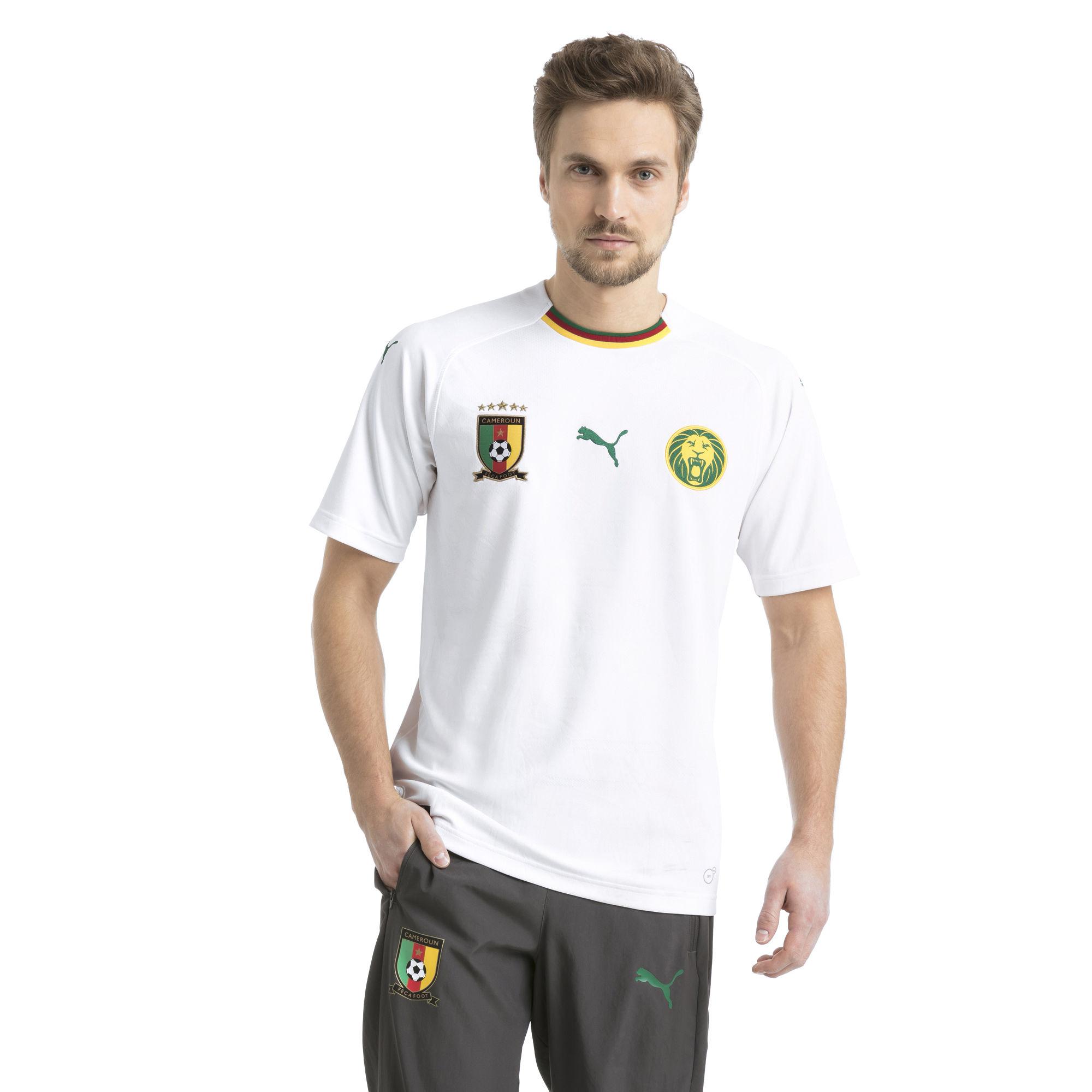 Cameroun 2018 maillot foot exterieur Puma
