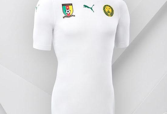 Puma officialise les féroces maillots Cameroun 2018