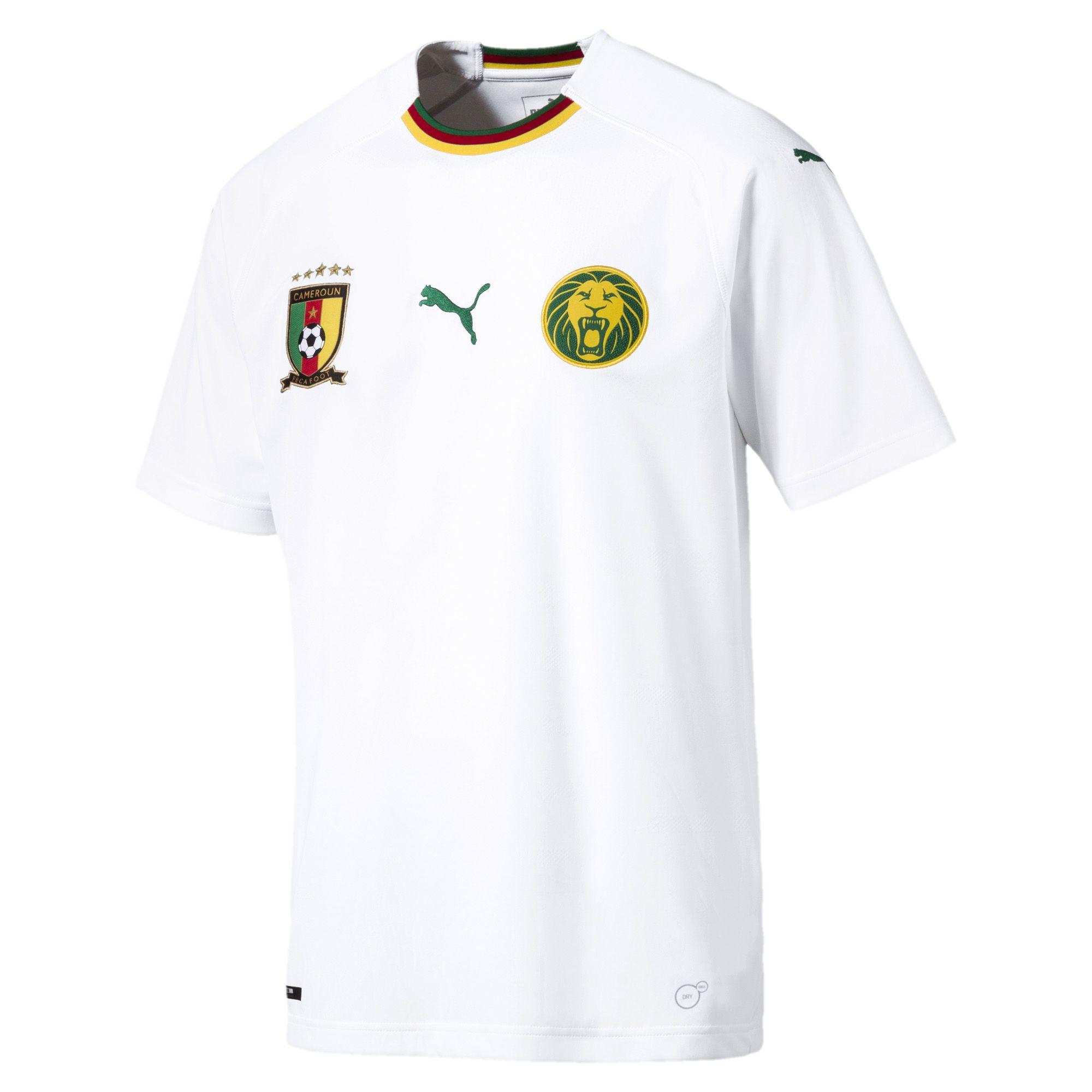 Cameroun 2018 maillot foot exterieur