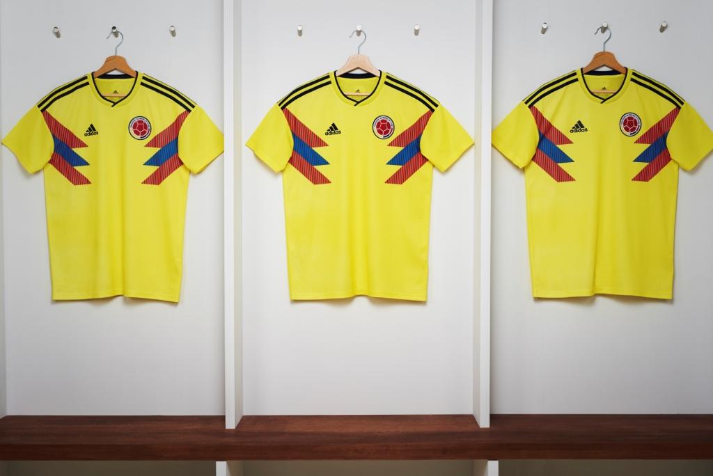 Colombie 2018 maillot coupe du monde 2018 Adidas