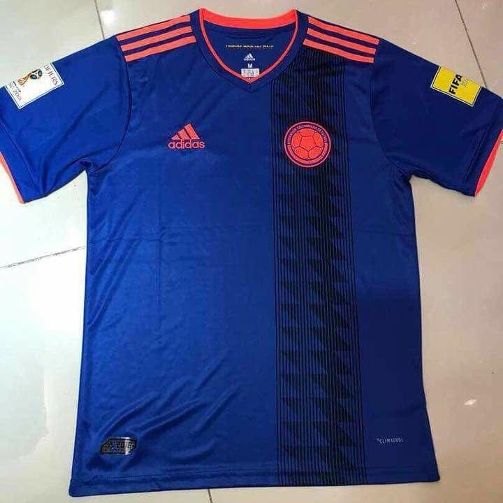 Colombie 2018 maillot exterieur foot coupe du monde 2018