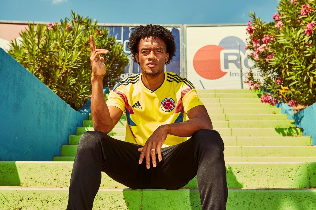 Colombie 2018 maillot foot coupe du monde 2018 Cuadrado