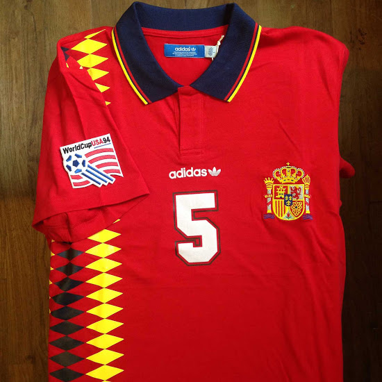 Espagne 1994 maillot de football