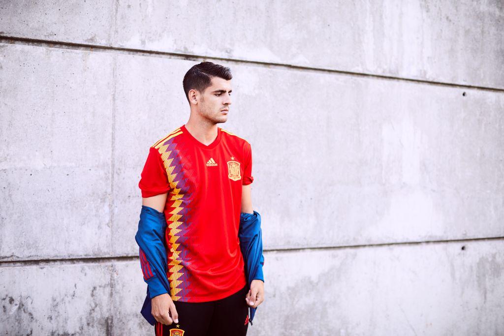 Espagne 2018 maillot domicile coupe du monde 2018