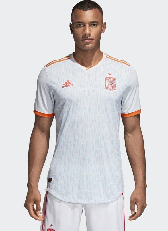 Espagne 2018 maillot exterieur foot coupe du monde