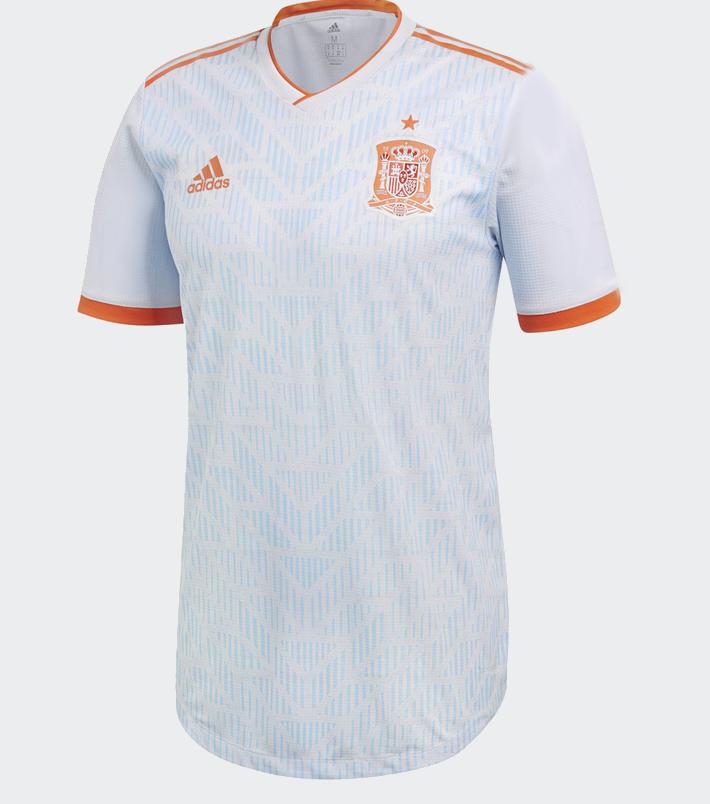 Espagne 2018 maillot football exterieur coupe du monde 2018